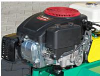 Univerzální kultivátor MKS - motor o výkonu 15 hp.